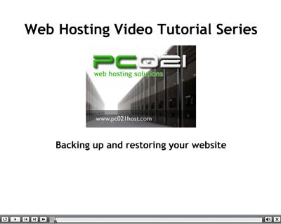 Pravljenje rezervnih kopija i vraćanje sajta (Backing up and restoring)