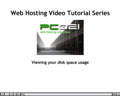 Provera zauzetosti web hosting prostora